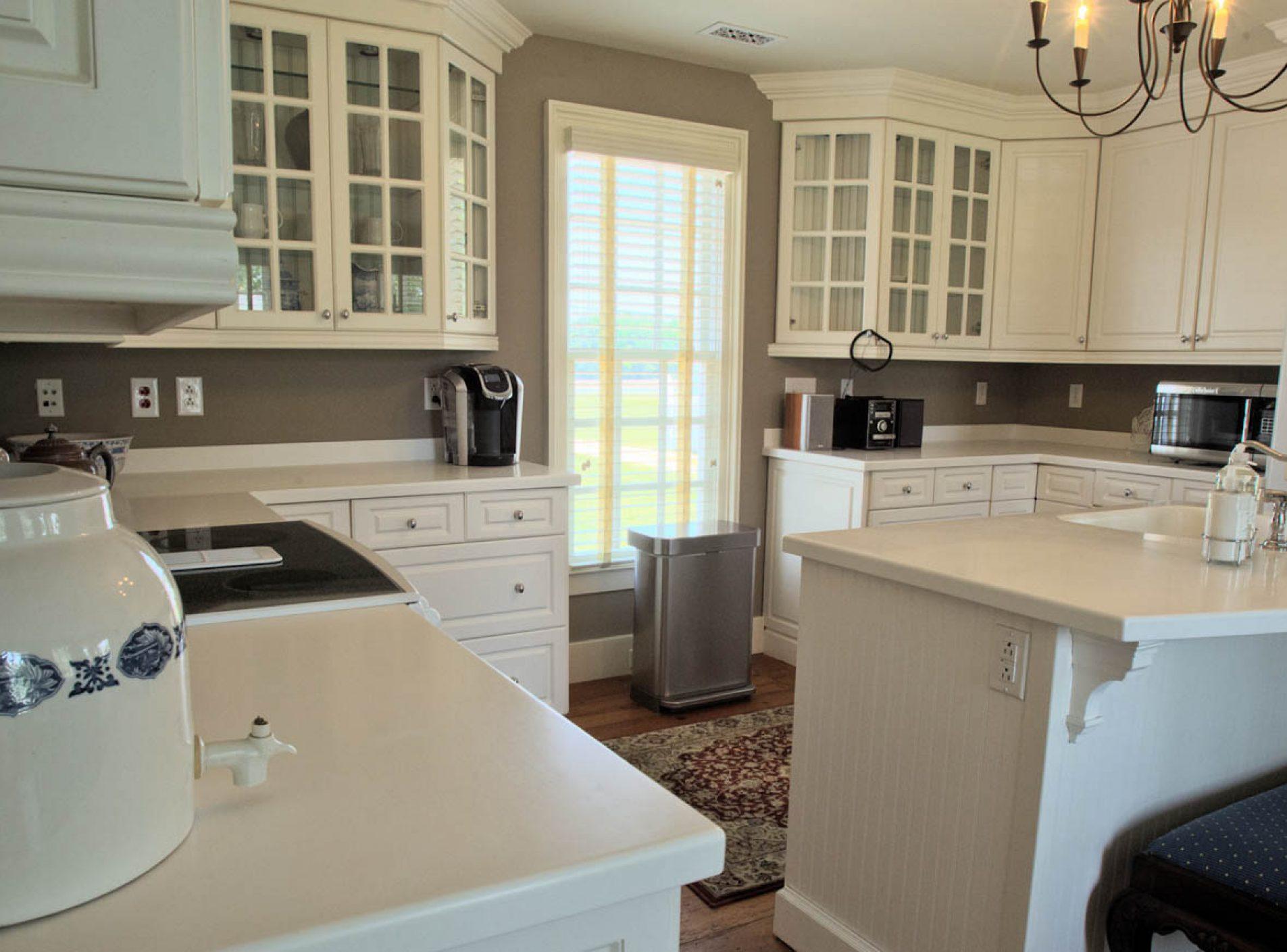 Burlington Plantation Main House Kitchen, Terri Aigner Photo