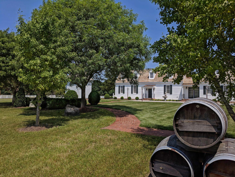 Main Manor House - Burlington Plantation